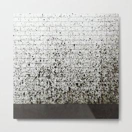 Subway Pollock Metal Print