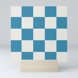 Retro Sailor Checkerboard Lugat Mini Art Print