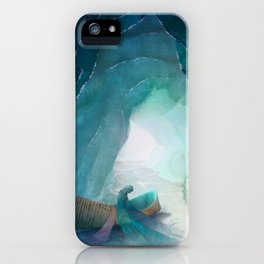 When Ice Becomes Silk iPhone Case