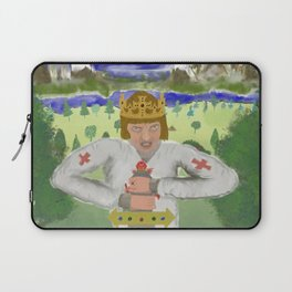 King Arthur Extracts Excalibur Laptop Sleeve