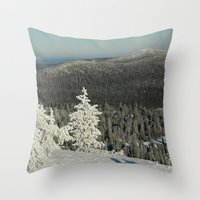 narnia Throw Pillows featuring Narnia by JukkaA