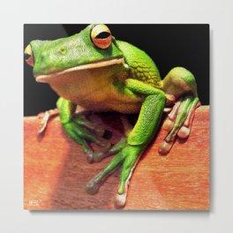Tree Frog Toehold Metal Print