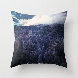 Silence Of Nature Throw Pillow