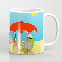 Meerly Living the Life Coffee Mug
