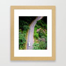 From other perspective. Framed Art Print
