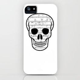 Music Skull iPhone Case