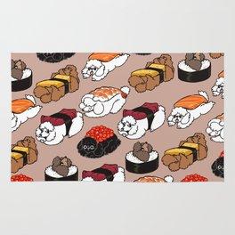 Sushi Poodle Rug