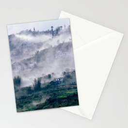 Foggy Mountain of Vietnam Stationery Cards