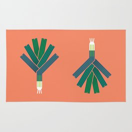 Vegetable: Leek Rug