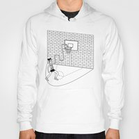 basketball Hoodies featuring Basketball by Sorte