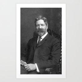 George Foster Peabody Portrait - 1907 Art Print