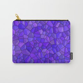 Sapphires and Amethysts Carry-All Pouch
