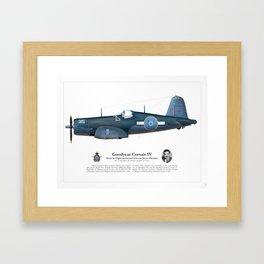 Corsair IV - Osborne Hawkins Framed Art Print