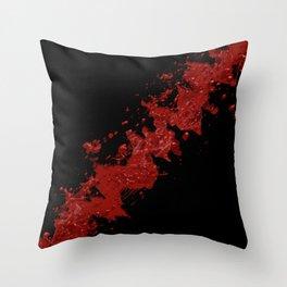 Slashed Throw Pillow