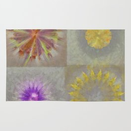 Anticapitalistically Combination Flower  ID:16165-030023-59450 Rug