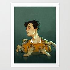 R. A. B. Art Print