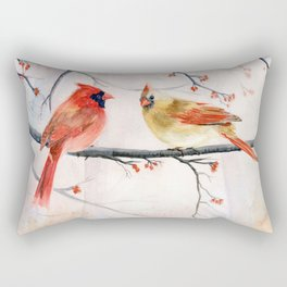 Just The Two Of Us Rectangular Pillow