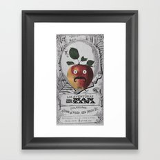 mr manzana Framed Art Print