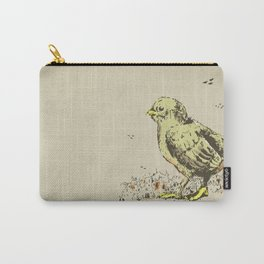 feel the earth tremble (or monster chick) Carry-All Pouch