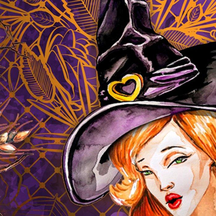 Halloween Witch #1 Leggings