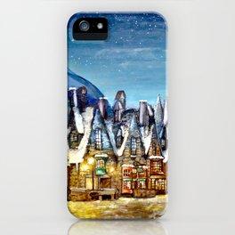Wintry Hogsmeade iPhone Case