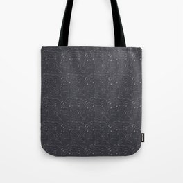 Rubber pup Tessellation Tote Bag