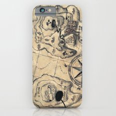 Old Nautical Map iPhone 6s Slim Case