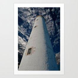 Barns Ness Lighthouse Art Print
