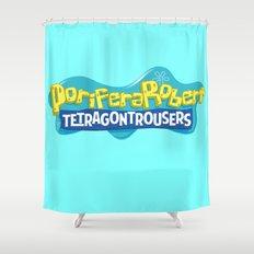 PoriferaRobert TetragonTrousers Shower Curtain