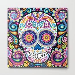 Sugar Skull (Cosmos) Metal Print