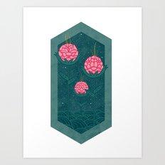 Three Is Company Art Print