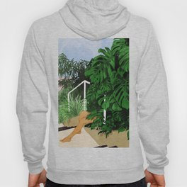 Hiding in Green #painting #illustration Hoody