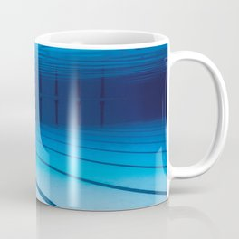 Underwater Empty Swimming Pool. Coffee Mug
