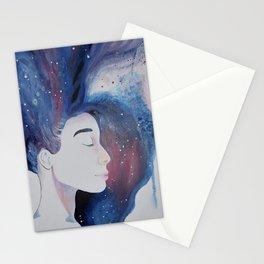 Inky Solemnity Stationery Cards