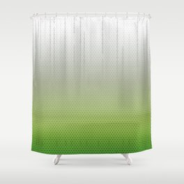 Sombra Skin Glitch Pattern Shower Curtain