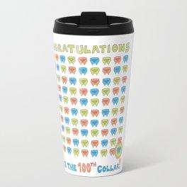 100th Collar! Travel Mug