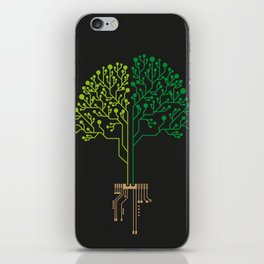 Technology Tree iPhone Skin