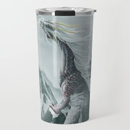 Winter dragon Travel Mug