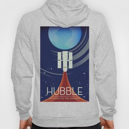 Hubble,Gateway to the Universe Hoody