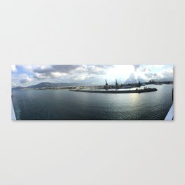 porto di Palermo Canvas Print