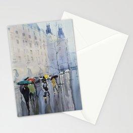 Plaze de las Cortes Stationery Cards
