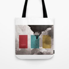 simplicity is freedom Tote Bag