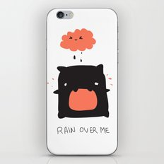 RAIN OVER ME iPhone & iPod Skin