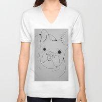 danny ivan V-neck T-shirts featuring Ivan by seekmynebula
