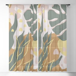 Floral Magic Sheer Curtain