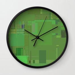 Series 10 - Oxidized Wall Clock