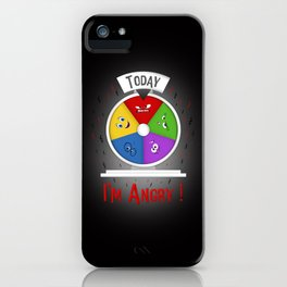 I am Angry iPhone Case