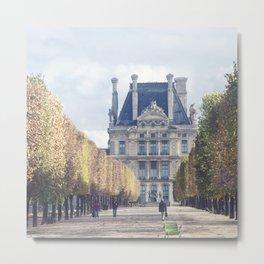 Paris Tuleries Metal Print