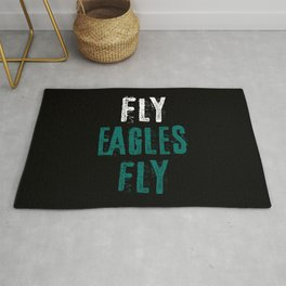 Fly Eagles Fly Rug