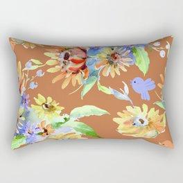 Fall Floral Jubilee Rectangular Pillow